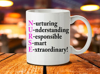 Nurse mug with funny saying !!!