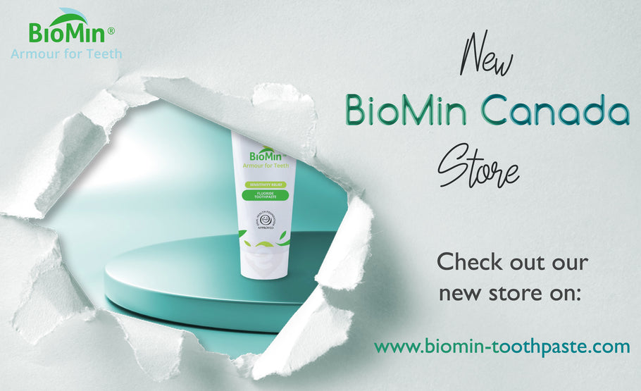 SAY HELLO!  To The New BioMin Canada Store