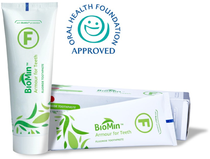 Biomin F Toothpaste Gains Foundation Approval