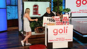 Ellen Introduces Goli Gummies!