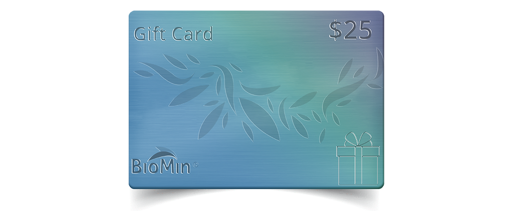 BioMin Gift Card Giveaway