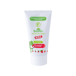 BioMin™ F 12 Pack of for Kids Strawberry + Free Tube + Low Flat Shipping rates - BioMin Canada