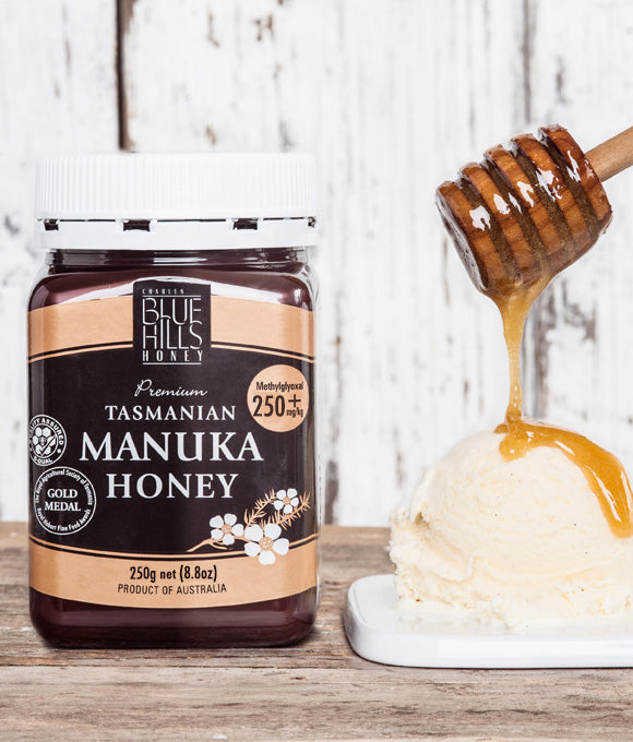 Blue Hills Manuka Honey MGO 250+mg/kg - HealthPulze