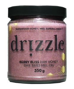Drizzle Berry Bliss Raw Honey - Antioxidant Blend - BioMin Canada