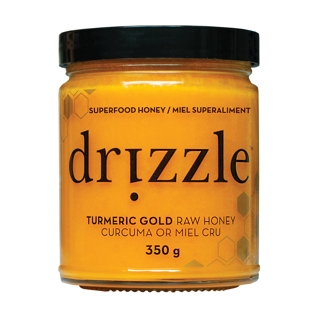 Drizzle Turmeric Gold Raw Honey - Anti-Inflammatory Blend - HealthPulze