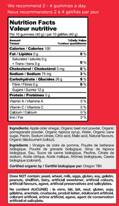 8 Bottles Goli ACV Gummies - BioMin Canada