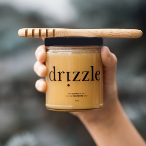 Drizzle Golden Raw Honey - BioMin Canada