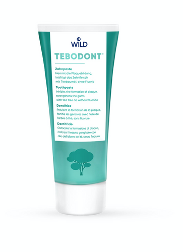 TEBODONT® toothpaste without fluoride, 75 ml