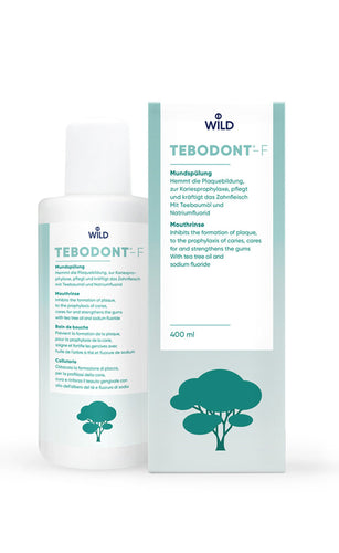 TEBODONT®-F mouthwash, 400 ml with fluoride