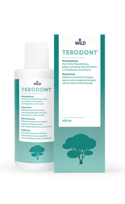 TEBODONT® mouthwash, 400 ml without fluoride - HealthPulze