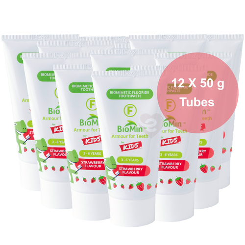 BioMin™ F 12 Pack of for Kids Strawberry + Free Tube + Low Flat Shipping - HealthPulze