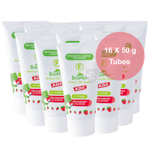 BioMin™ F 16 Pack for Kids Strawberry + Free Tube + Free Shipping - HealthPulze