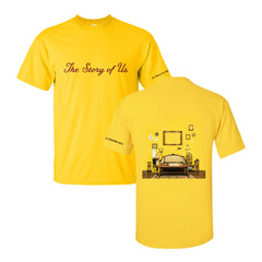 """The Story Of Us"" Tee (Gold)"