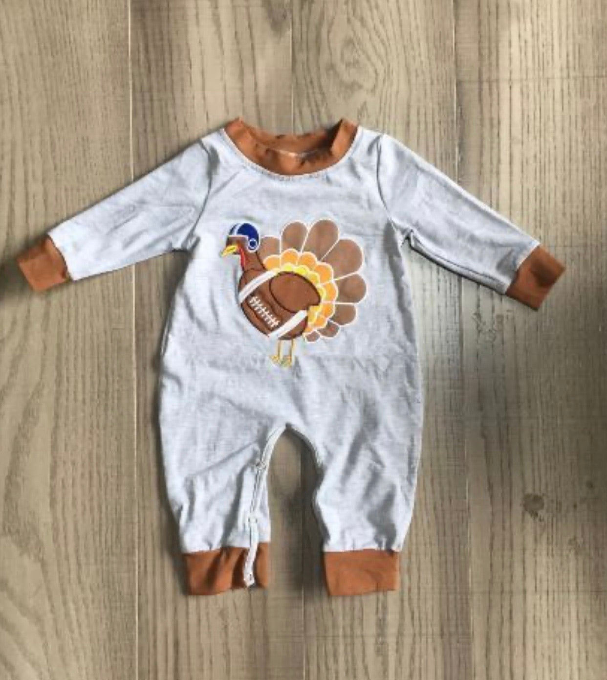 Tackle turkey romper