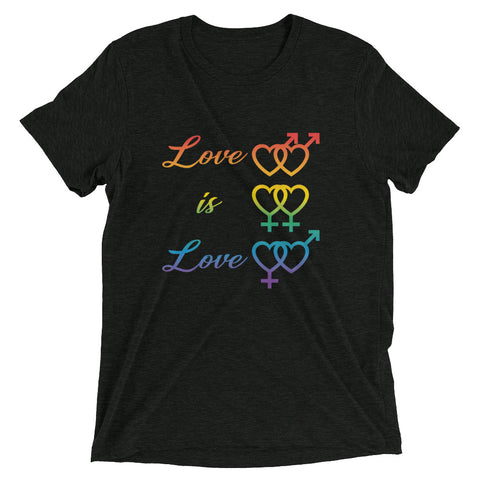 Pride, Love is Love Short sleeve t-shirt