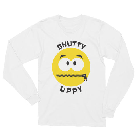 Shutty Uppy – Unisex Long Sleeve T-Shirt