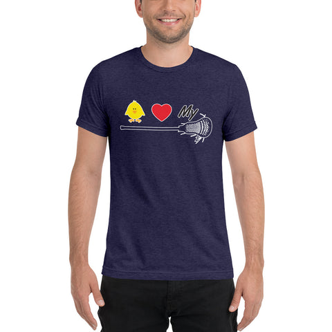 Chicks love my stick... LaCrosse – Short sleeve t-shirt