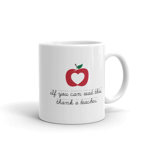 Thank a Teacher – Mug