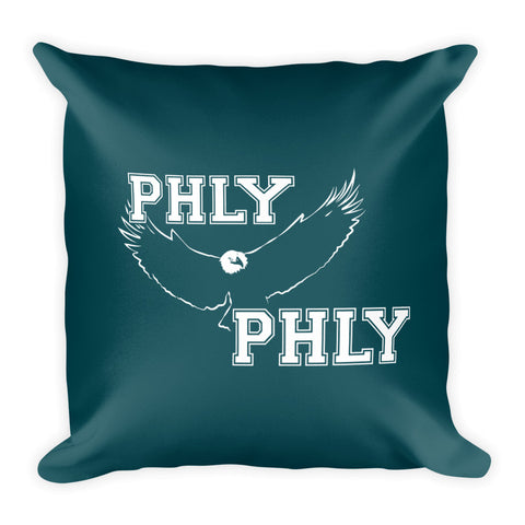 PHLY eagles PHLY – Square Pillow