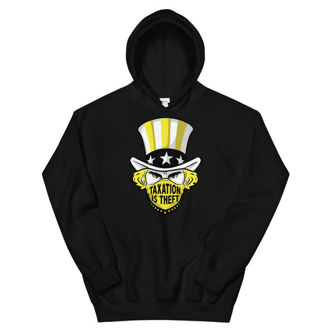 Taxation is theft – Unisex Hoodie
