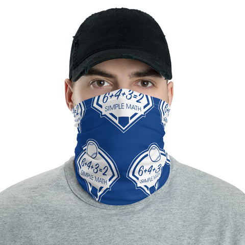 Baseball Easy Math Neck Gaiter