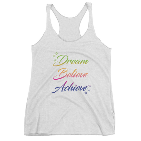Dream Believe Achieve – Women's tank top