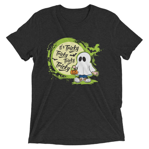 Halloween, it's Tricky – Short sleeve t-shirt