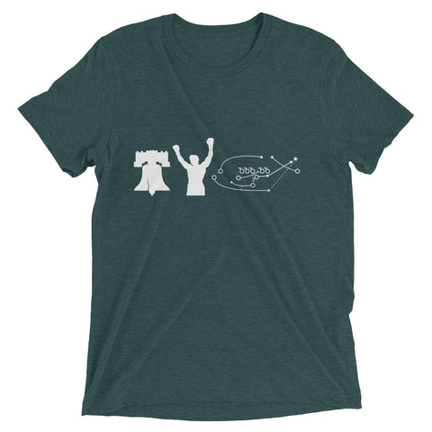 3 greatest things in Philly – Short sleeve t-shirt