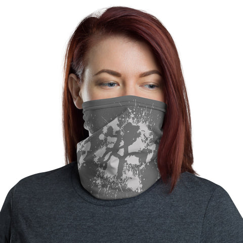 Grey on Grey Joshua Tree Neck Gaiter