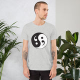 Semicolon Ying Yang –  Short-Sleeve Unisex T-Shirt