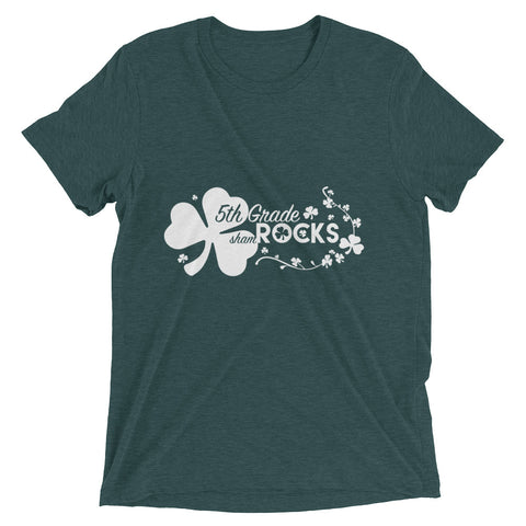 5th Grade shamROCKS – Short sleeve t-shirt
