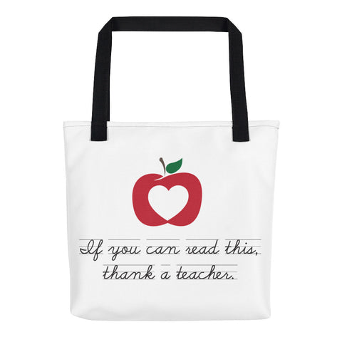 Thank a Teacher – Tote bag