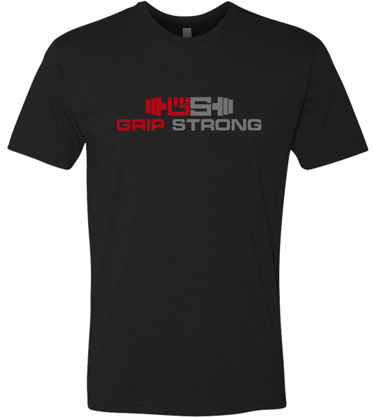 Grip Strong Men's Black T-Shirt