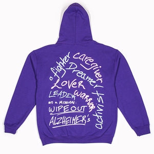 """i am ____"" Signature Hoodie Alzheimer's Edition"