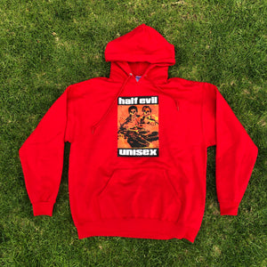 DEAD DRIVER HOODIE RED
