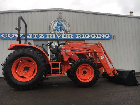 RX7320P Kioti Tractor and KL7320 Loader