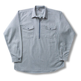 Hickory Shirt Long Sleeve Zip