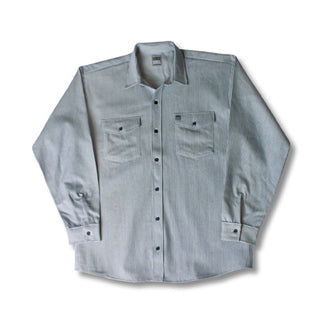 Hickory Shirt Long Sleeve Button Big Bill