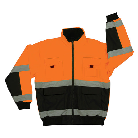 Orange/Black Class 3 Bomber Jacket
