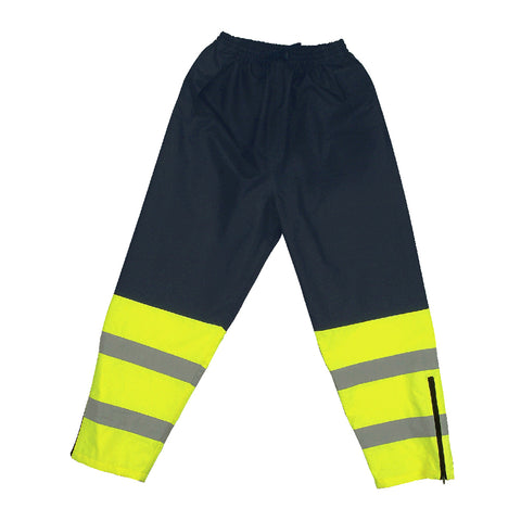 Lime/Black Safety Waist Pant