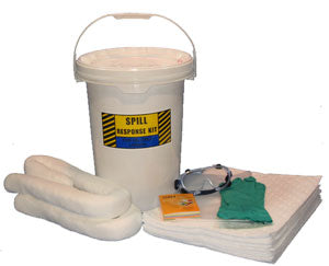 6.5 GALLON BUCKET SPILL KIT OIL ONLY