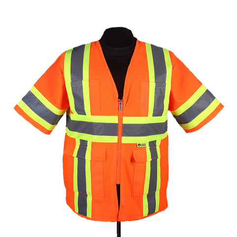 SAFETY VEST W/SLEEVES - CLASS 3