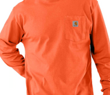 Long Sleeve Workwear K126 Carhartt T-Shirt