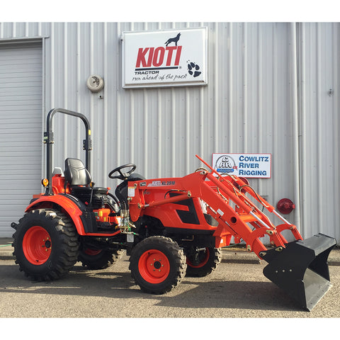 CK2510 HST Kioti Tractor and Loader