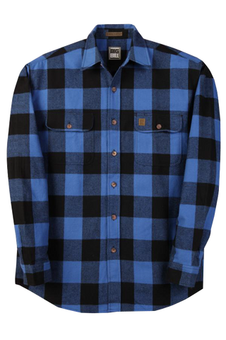Big Bill Button Flannel Shirt (Tall Sizes)