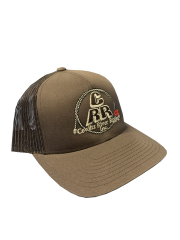 Brown CRR Logo Hats