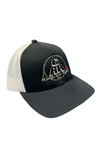 Navy & White CRR Logo Hats