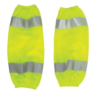 Hi-Vis Lime Mesh Gaiters - Pair