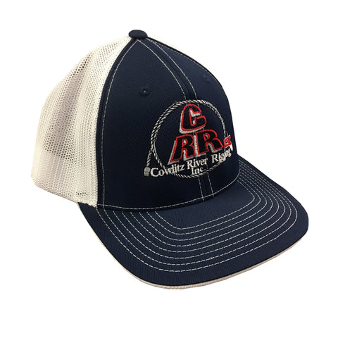 Navy Blue CRR Logo Hats