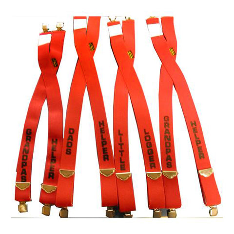 Children's Logo Suspenders